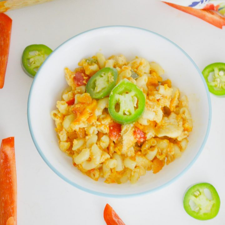 Spicy Chicken Mac and Cheese