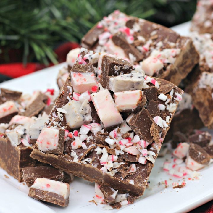 Peppermint Andes Mint Fudge