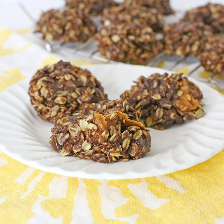 Caramel No-Bake Cookies